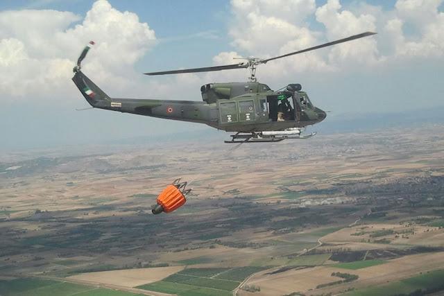 Aeronautica Militare incendi sicilia