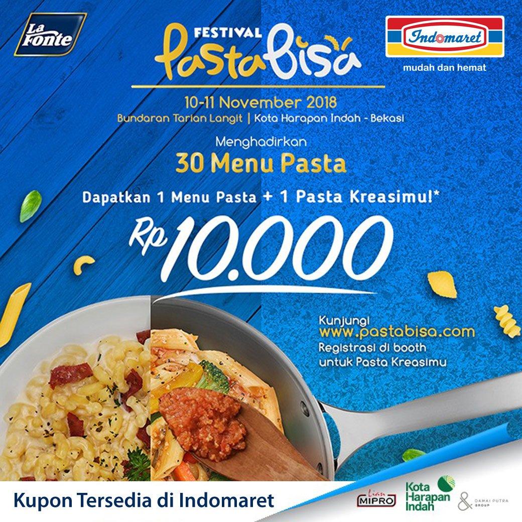 Indomaret - Promo Event Festival Pasta Bisa (10 - 11 November 2018)