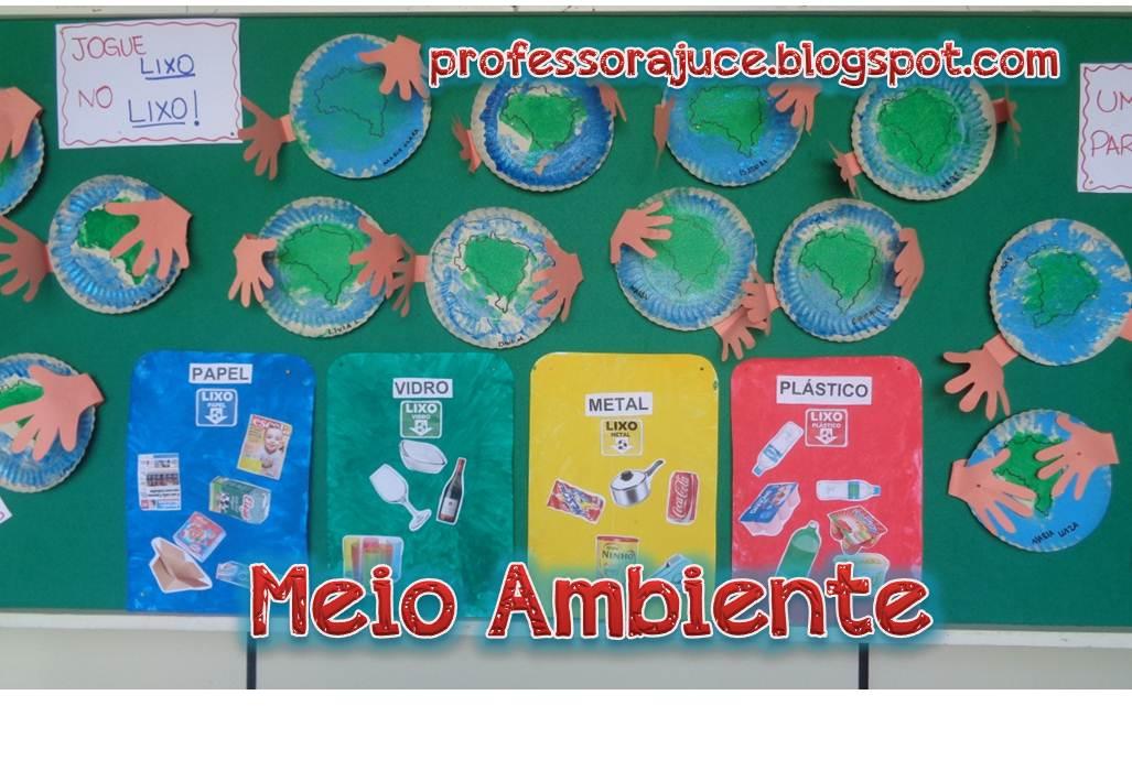 Marisca meio ambiente na educa o infantil for Mural sobre o meio ambiente