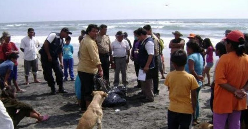 Escolar del colegio San Ramón de Cajamarca desaparece luego de ingresar al mar en Pimentel - Lambayeque