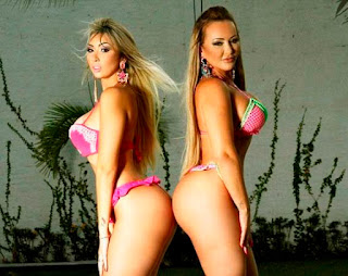 Mother and daughter compete in Brazil's Miss Bumbum competition