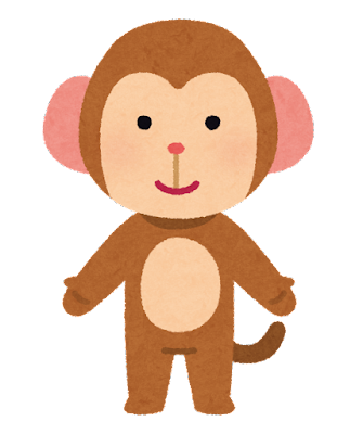 猿のキャラクター