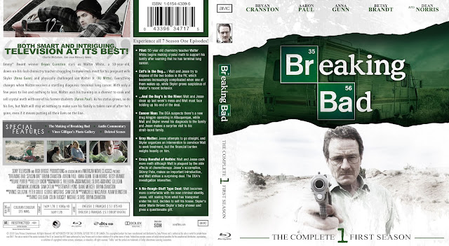 Capa Bluray Breaking Bad Primeira Temporada Completa