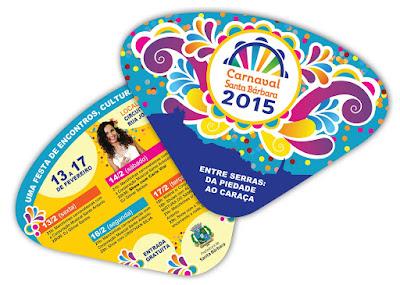 Ventarola carnaval santa barbara 2015