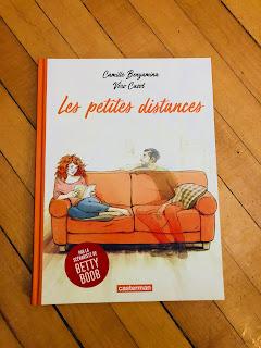 """Photo de la bande-dessinée """"Les petites distances"""""""