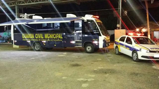 Unidade móvel de monitoramento da GCM de Campos dos Goytacazes (RJ) está presente na 57ª na ExpoAgro