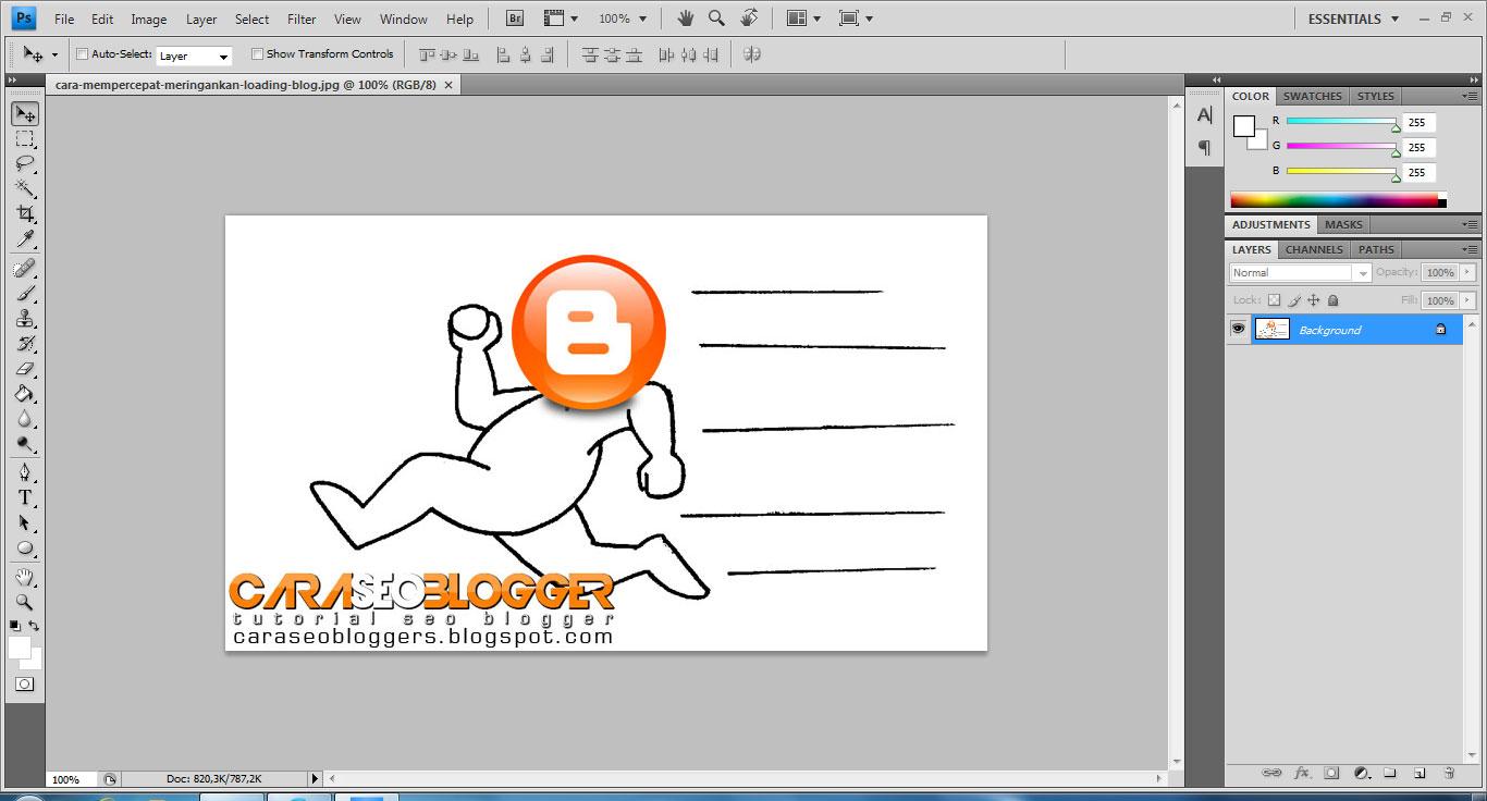 Cara Seo Blogger Tutorial Seo Blog Cara Mengecilkan Ukuran Gambar Dengan Photoshop