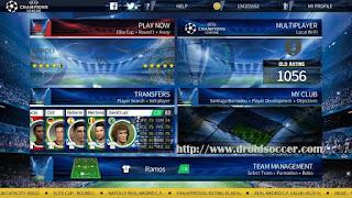 DLS 17 Mod UEFA CHAMPIONS LEAGUE Apk + Data Obb