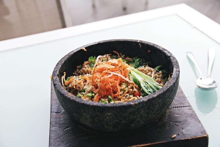 healthy bowl food vegan