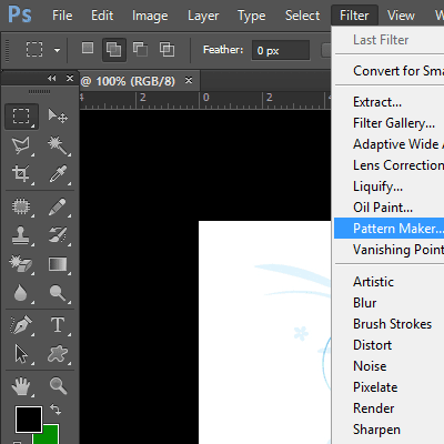 Pattern Maker Filter in Adobe Photoshop CS6