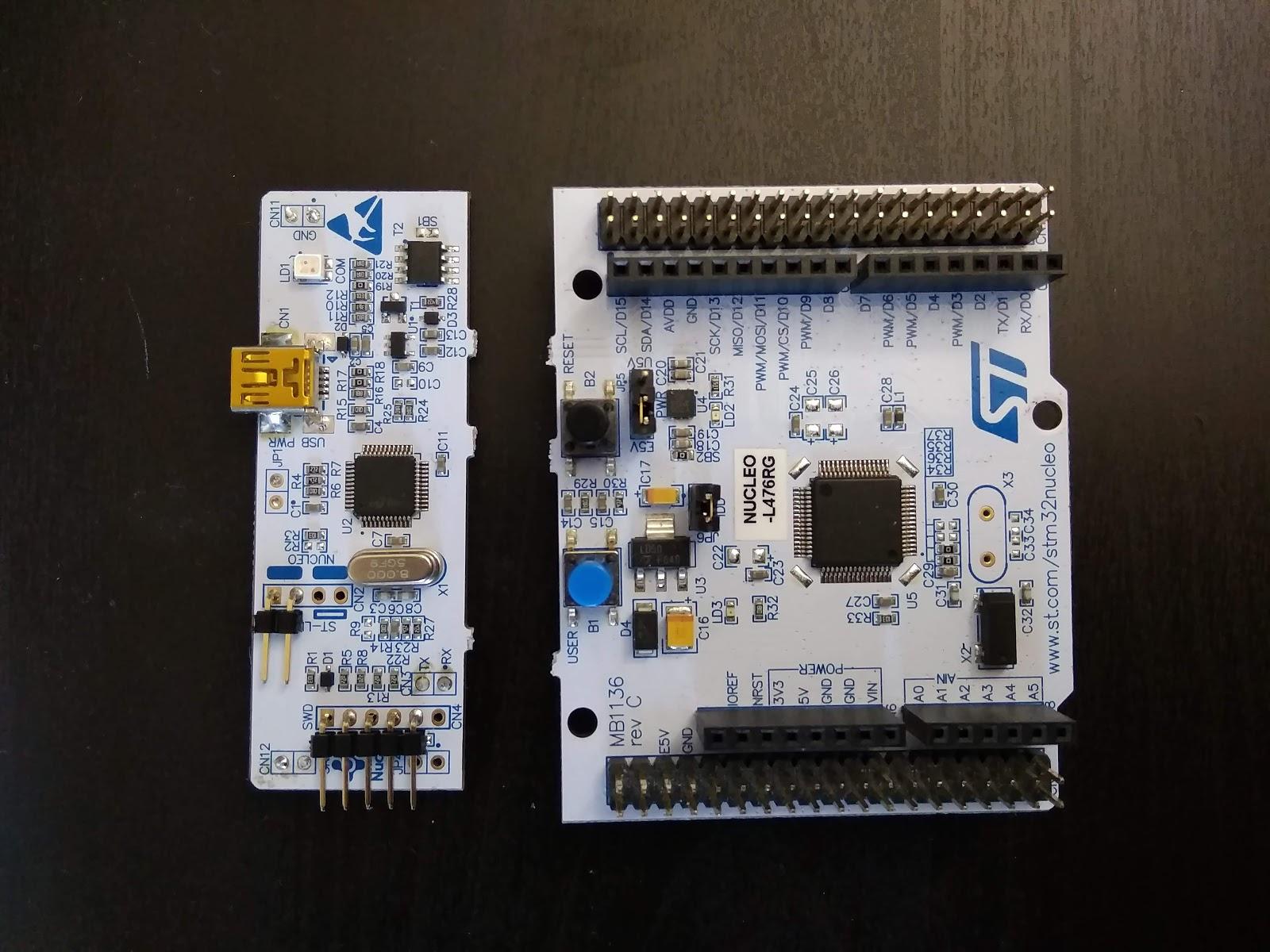 Repurposing STLink of Nucleo64 boards