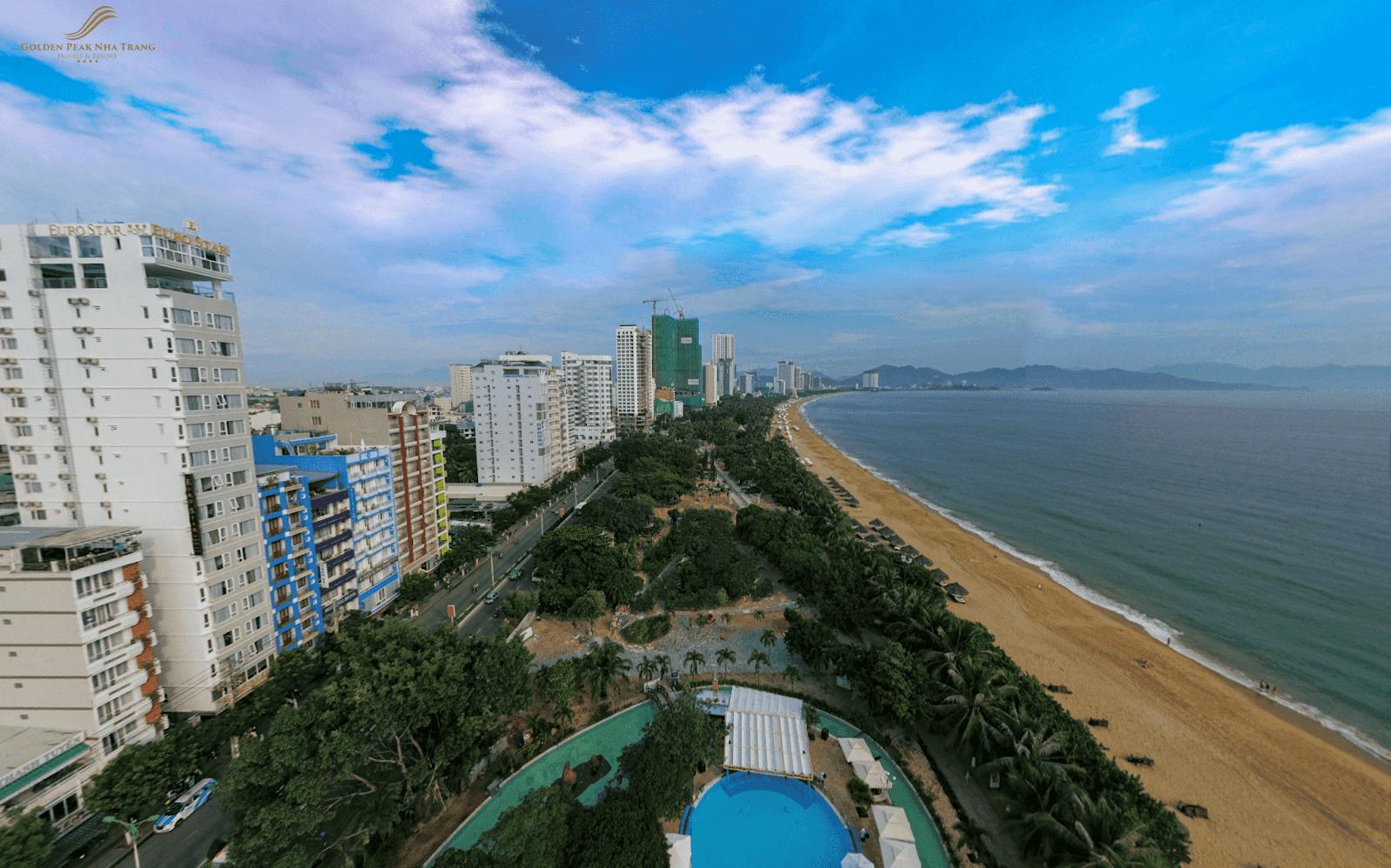 Golden Peak Nha Trang - Dự án căn hộ cao cấp trên trục đường Trần Phú