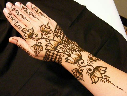 Mehndi Patterns Printable : Latest shaded mehndi designs for all occasion with