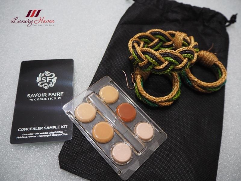 savoir faire cosmetics concealer palette giveaway