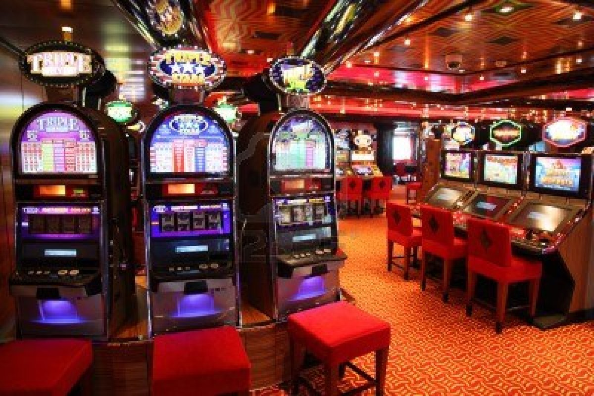 Apertura sala slot machine