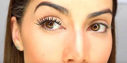 maquillaje sencillo para ojos grandes