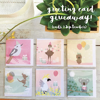 http://taniamccartney.blogspot.com.au/2017/08/greeting-card-giveaway.html
