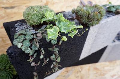 DIY Jardinière en parpaings