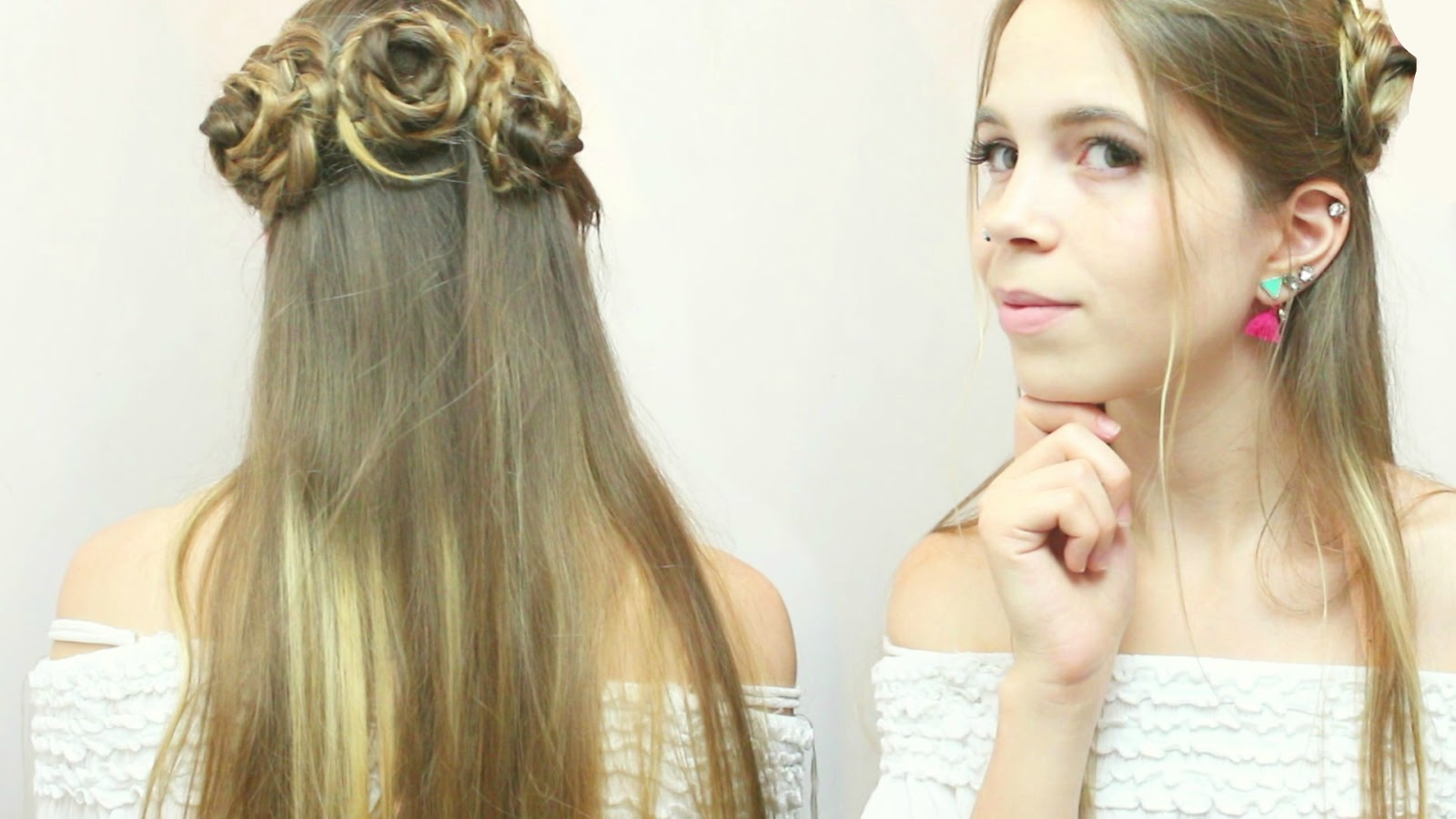 Hushed It The Rose Crown Hairstyle Tutorial