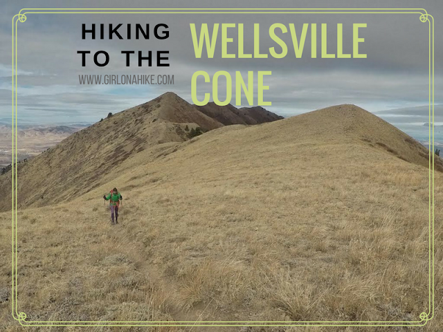 Hiking to the Wellsville Cone, Utah