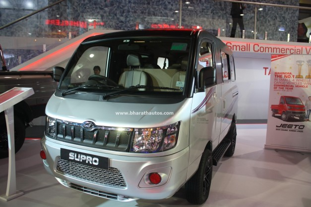 048315e00d7624 Mahindra s commercial vehicle arm today unveiled customized versions of the Mahindra  Supro and Mahindra Imperio Double Cabin model at the ongoing Auto Expo ...