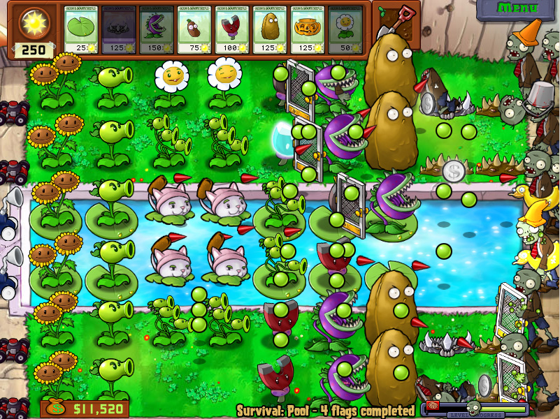 Plants Vs Zombies Game Dfhcg