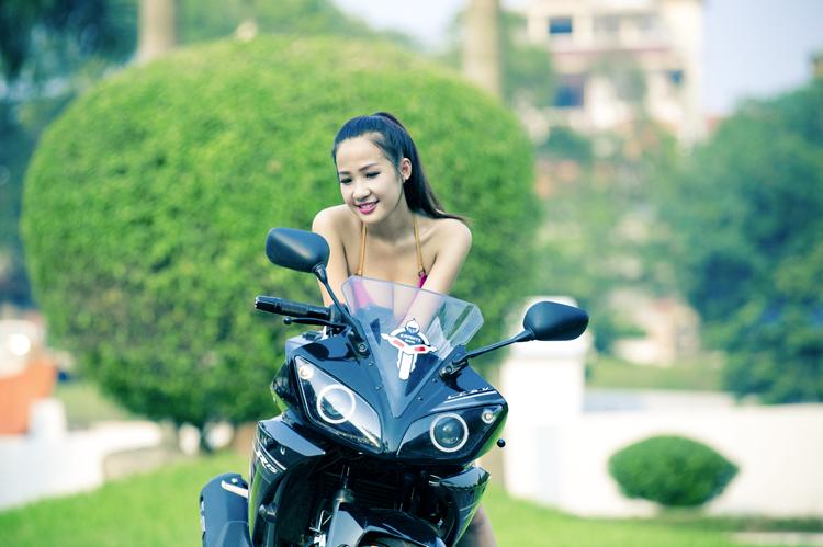 DJ Miu Miu and Bike