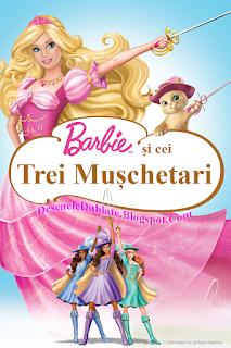 Barbie şi Cei Trei Muşchetari dublat în română