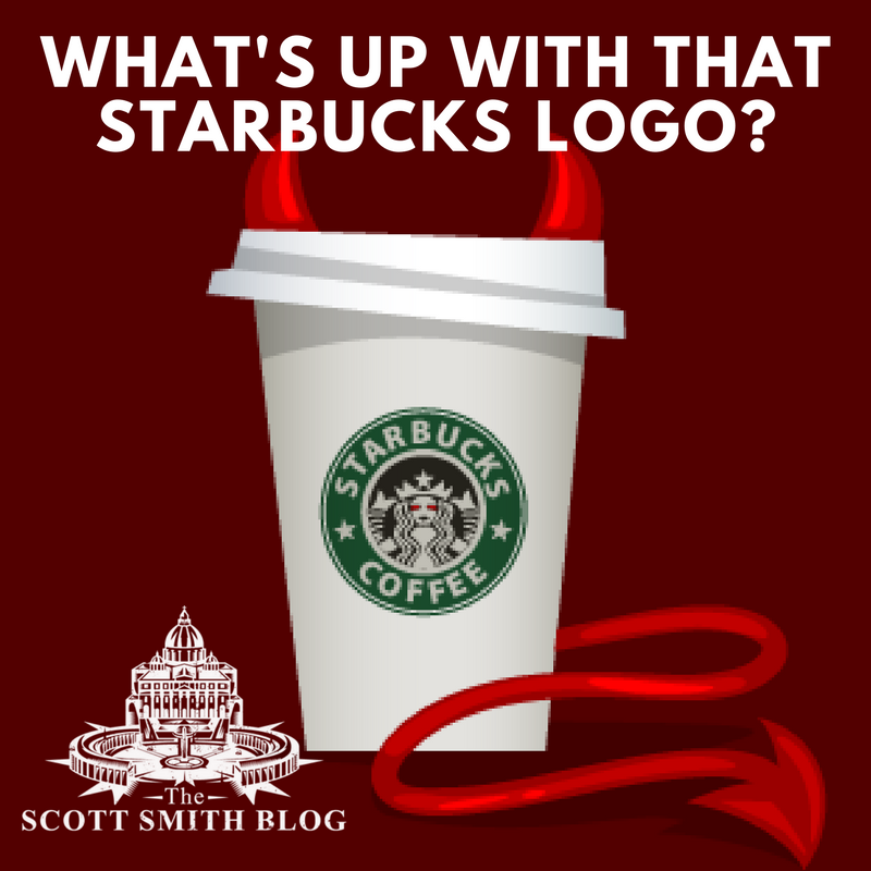 The Hidden Evil Of The Starbucks Logo All Roads Lead To Rome