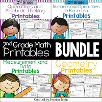 https://www.teacherspayteachers.com/Product/Second-Grade-Math-Printables-2012708