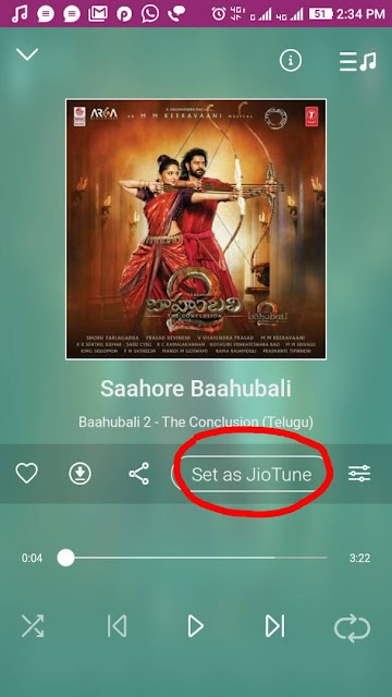 How to Activate JioTune using Jio Music app