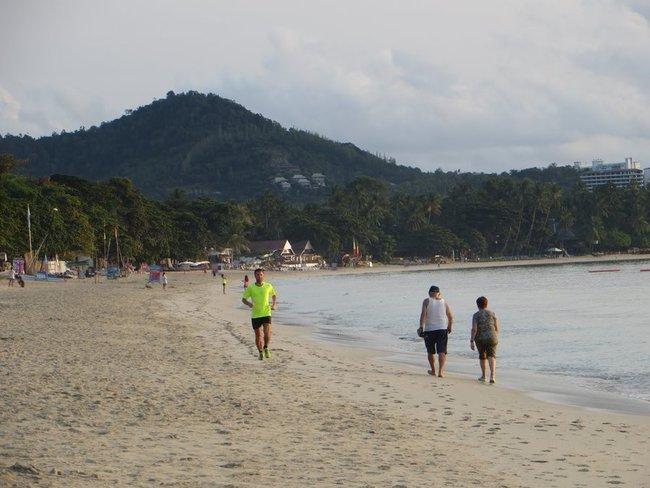 Народ на пляже Таиланд