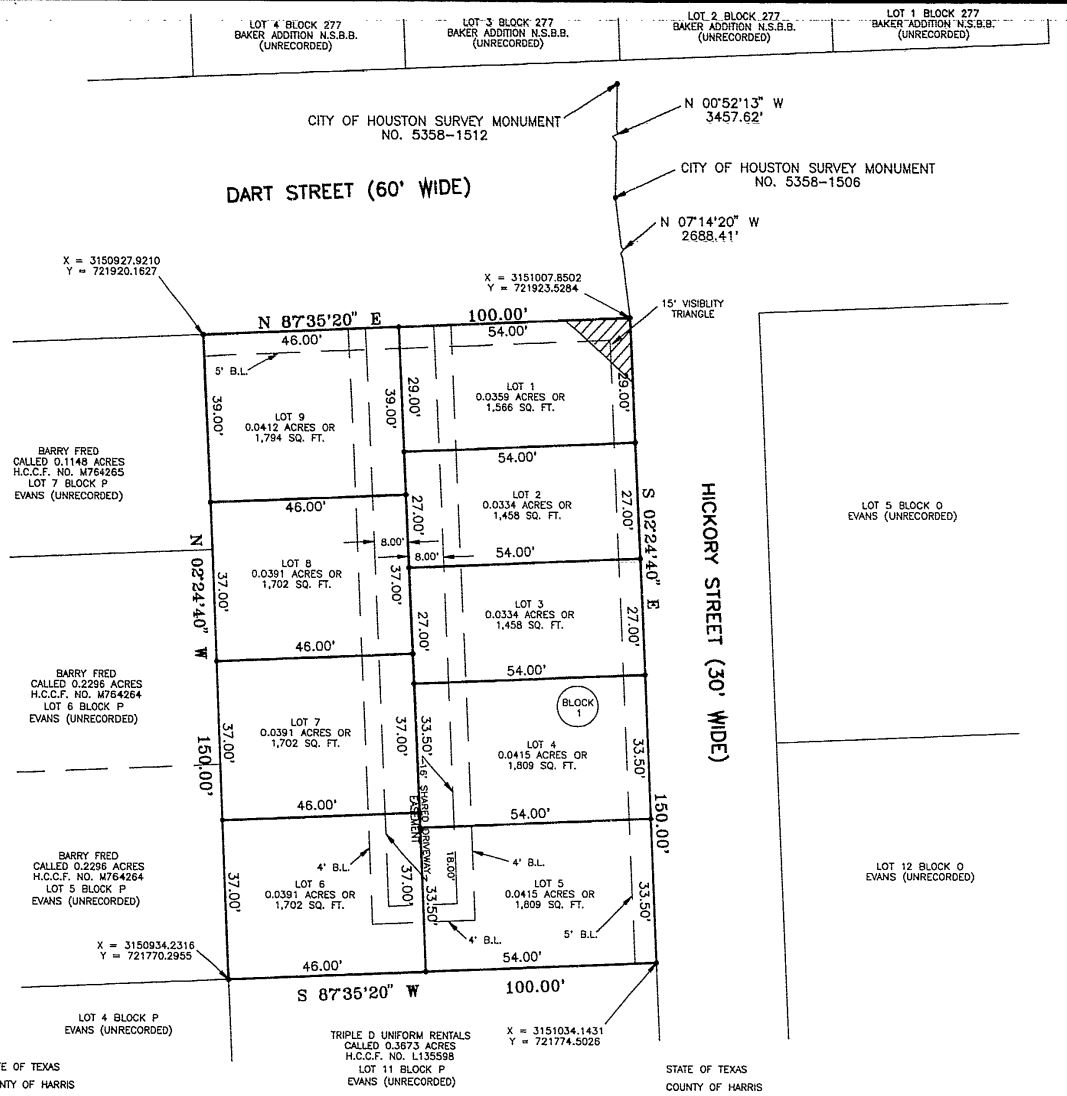 here is the legal description on the plat for the development pictured above note that it references the hollingsworth survey in the john austin two league