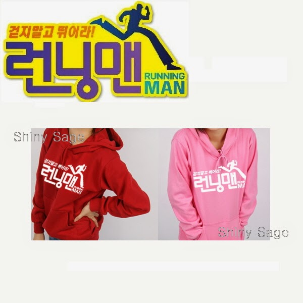 5c01480b4 Running Man LOGO Hoodie with a name tag & a mini patch/ Korea popular TV  show kpop SBS Tshirt T-shirt