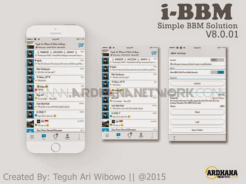 i-BBM V8.0.01 - Simple BBM Solution