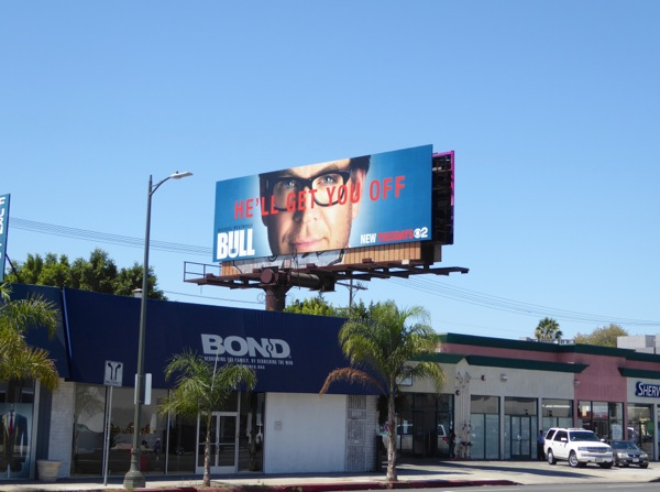 Bull series launch billboard