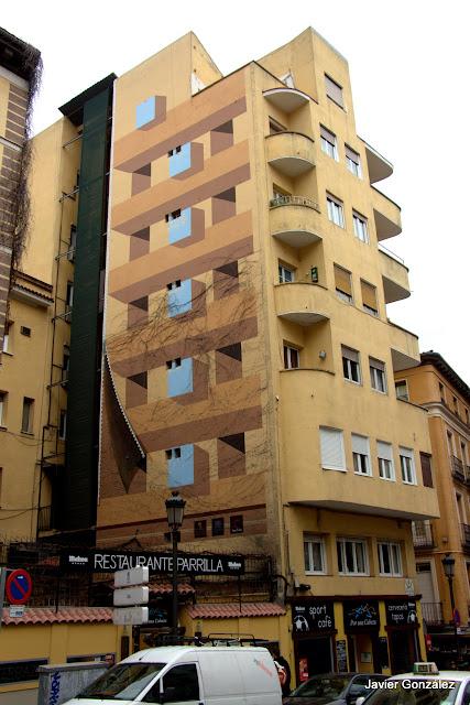 Trampantojos. Murales. Ventanas pintadas. Alberto Pirrongelli