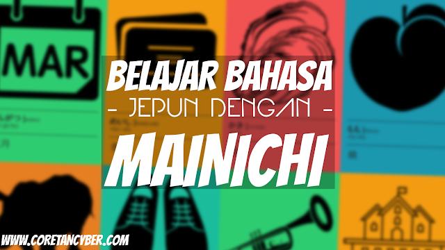 Belajar Bahasa Jepun Dengan Mainichi