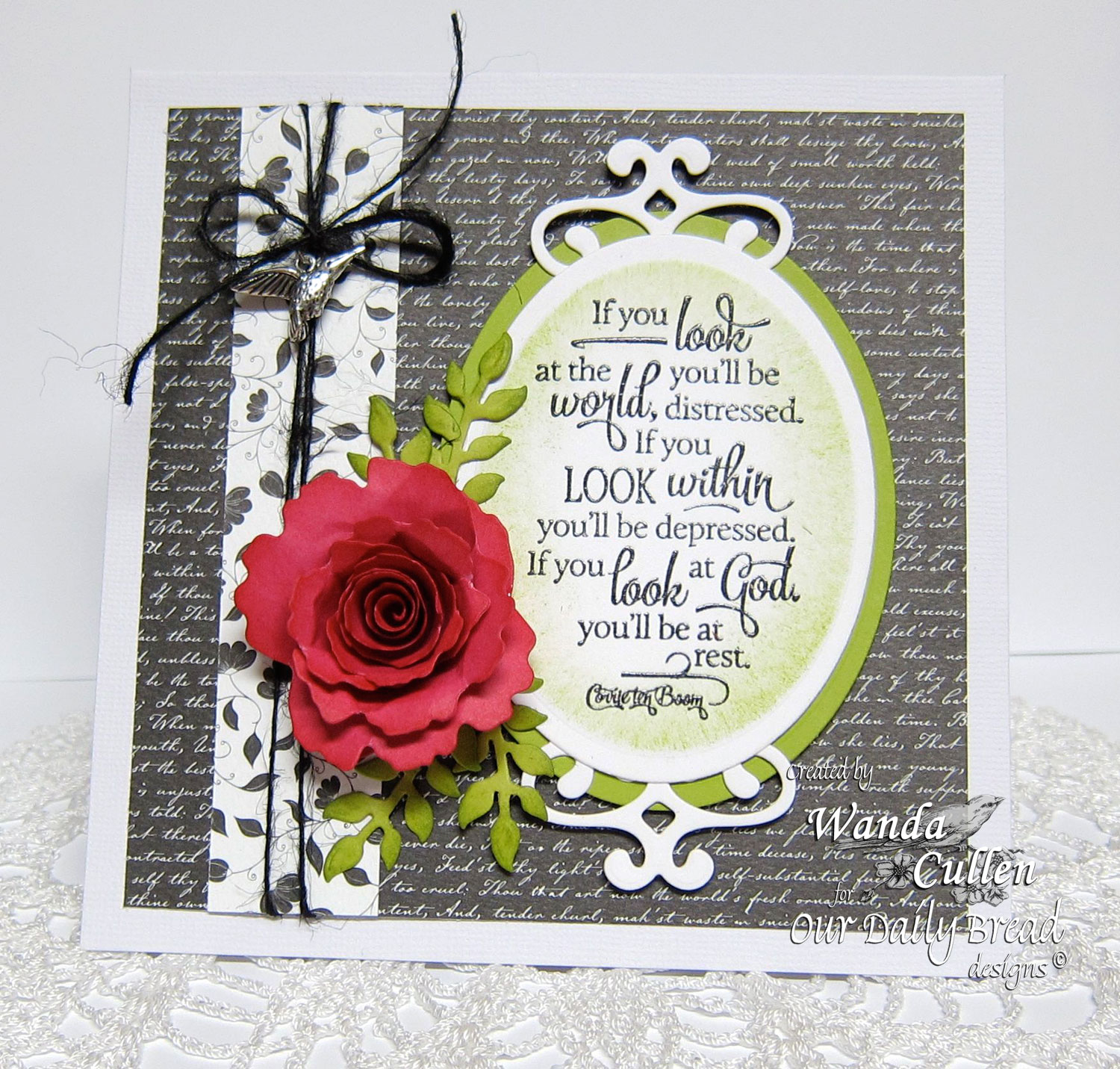 Stamps - Our Daily Bread Designs Quote Collection 4, ODBD Custom Fancy Foliage Dies