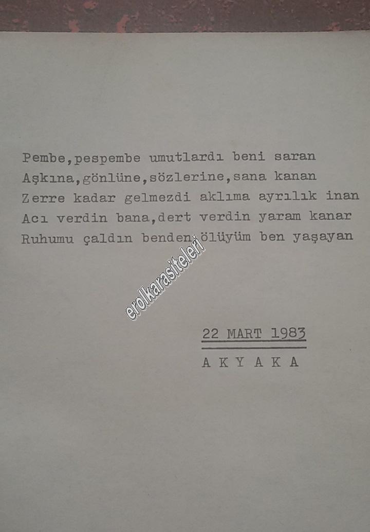 Nostaljik Asker Şiirleri - Pembe Umutlardı Ölen