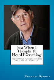 "Charles Grodin's book ""Just When I Thought I'd Heard Everything!"""