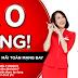 Air Asia khuyến mãi vé máy bay 0 đồng Hà Nội đi Bangkok