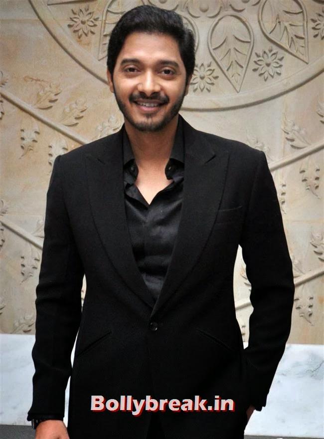Shreyas Talpade, Amruta  & Shreyas at Marathi Film Baji Launch