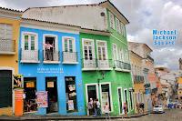 Michael Jackson Square Salvador de Bahia, Brazilia