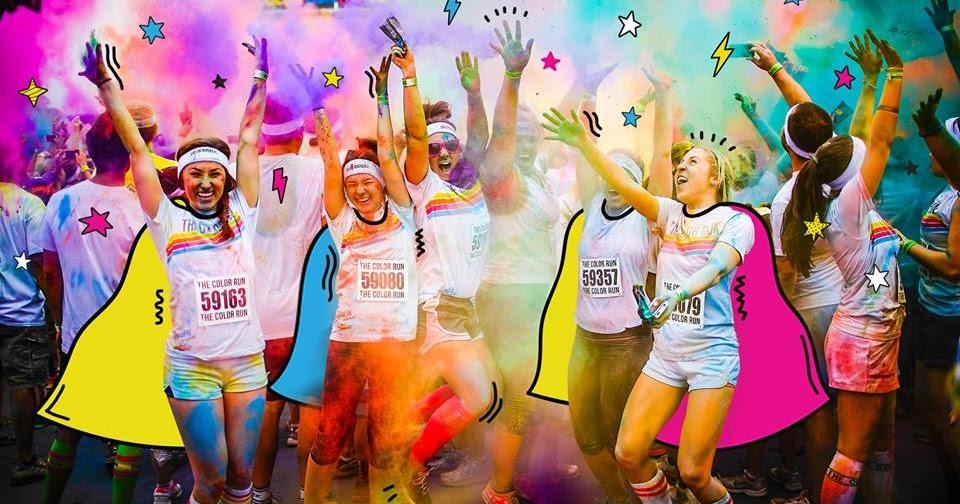 Color Run Huntington Beach