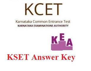 KSET Answer Key 2016