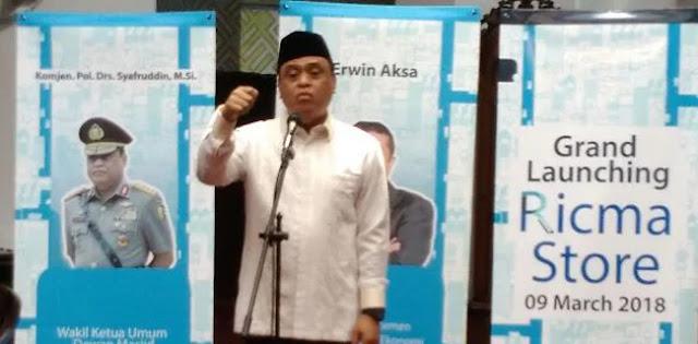 Terkait MCA, Wakapolri: Jangan Sebut Muslim, Saya Tersinggung