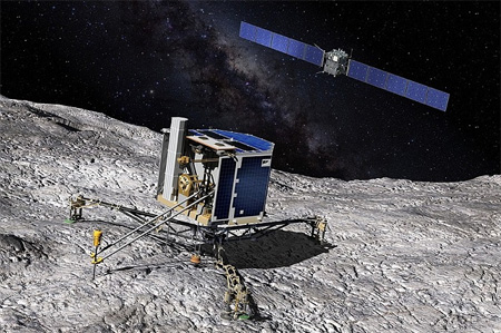 Rosetta mission ends in comet collision