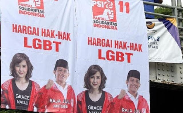 Bawaslu Sudah Perintahkan Copot Spanduk PSI Dukung LGBT