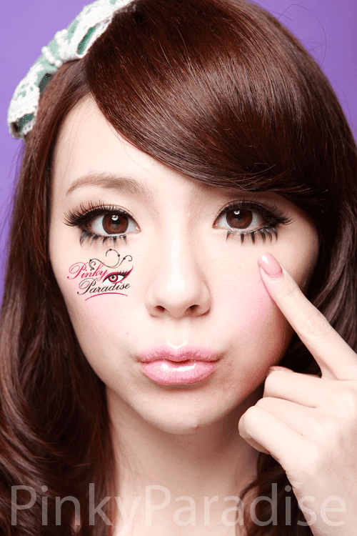 30Days Natural Circle Brown Circle Lenses (Colored Contacts)